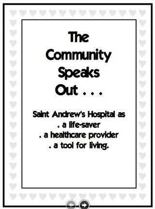 Community Speaks Cover