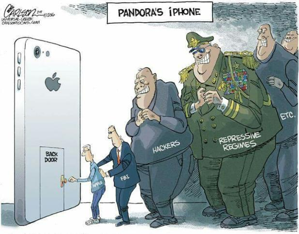 Caricature-iPhone-Backdoor