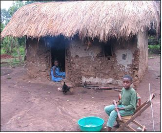 Thatched_hut_with_kids